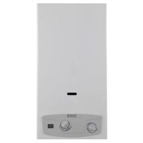 Calentador de agua GLP Baxi Aquaprojet Blue 14 Litros camara abierta