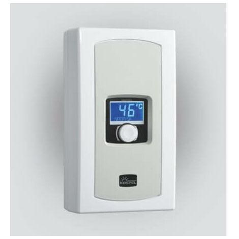 Calentador de agua instantáneo EPME KOSPEL electrónico con pantalla LCD de 5.5 a 9 kW
