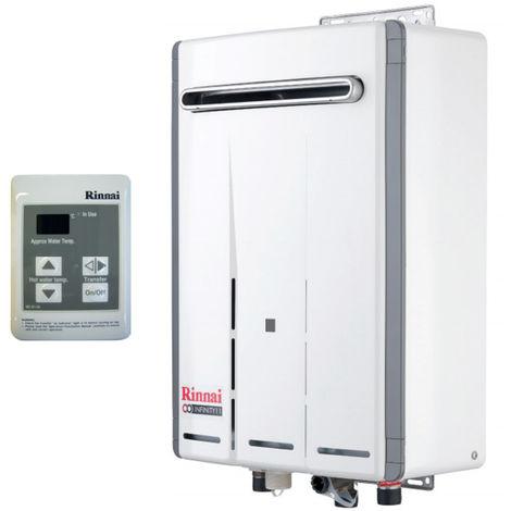 Calentador de agua Rinnai INFINITO 14e Litros Externo de Metano REU-VRM1420WD-NG