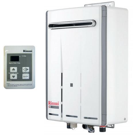 Calentador de agua Rinnai INFINITO 17e Litros Externo de Metano REU-VRM1720WD-NG