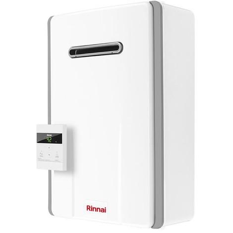 Calentador de agua Rinnai INFINITY 14 litros de metano o propano Aire REU-A1420W-E-NG