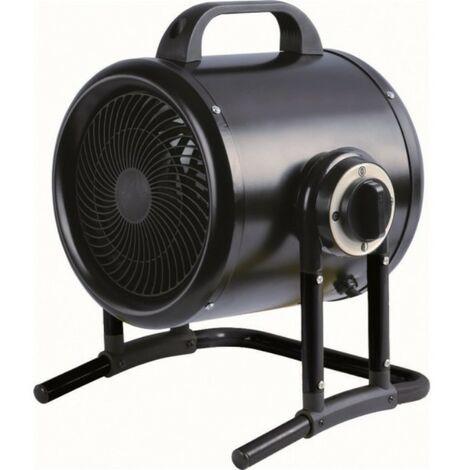 calentador de ventilador 3000w negro - oto - supra -