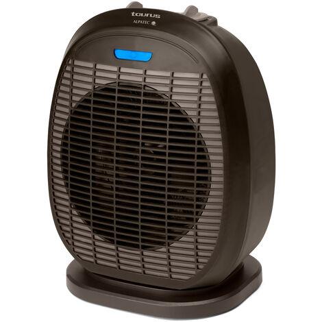 Calentador de ventilador oscilante de 2400w - tropicano 3.5 oscillant - taurus alpatec -