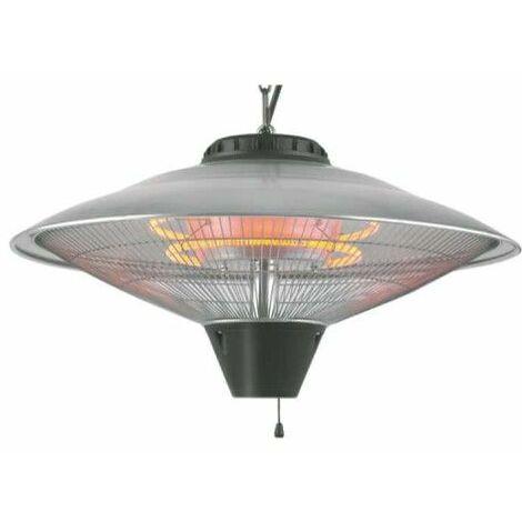 Calentador EDM - para terraza con techo - 2100W - 56,5x30cm - 07092