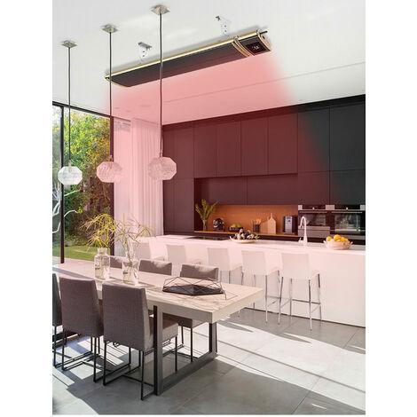 Calentador infrarrojo Wifi 1800W cm 110x18,9x6,7 SINED JH-NR18-13W
