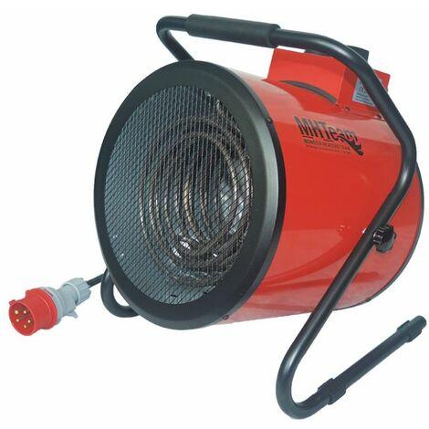 Calentador profesional trifásico 5000W cm 31,5x33,0x40,0 MHTEAM EH4-05