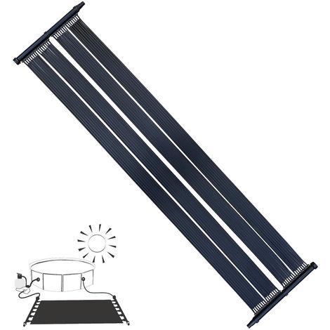 Calentador Solar Calentador de Piscina Colector Solar 305x80CM Panel Solar Lámina de Calor para Piscina
