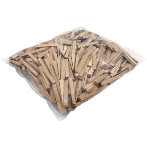 Cales en bois 250 pièces