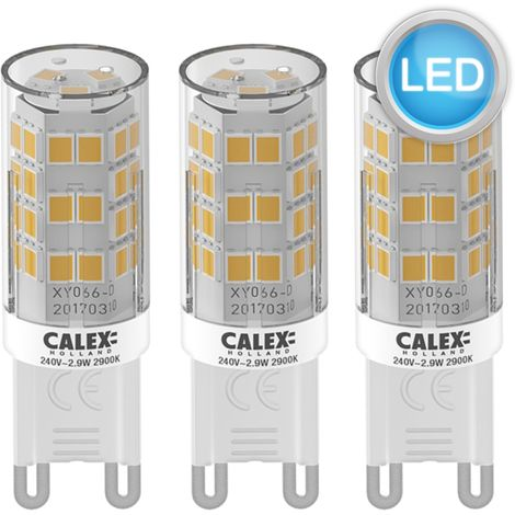 Calex 2.9W Warm White LED G9 Dimmable Light Bulbs 2900K 250 Lumens