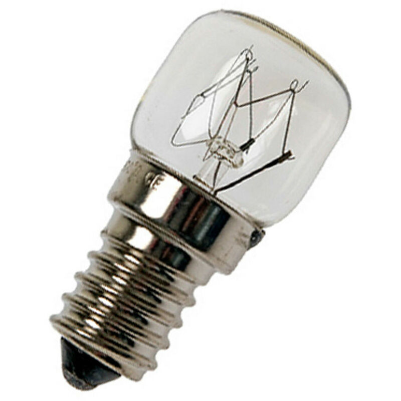 Image of 7W 22x48mm Miniature SES-E14 Dimmable 2700K Warm White Clear SES Small Screw E14 Incandescent Low Power Light Bulb - Calex