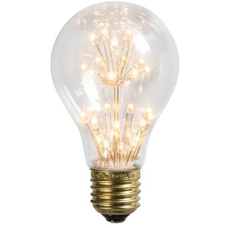 Calex Bombilla E27 fantasía LED A60 1.4W 136LM 2100 K