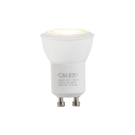 Calex Bombilla LED regulable GU10 35mm 4W 260lm 3000K