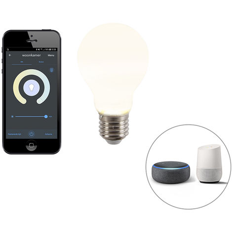 Calex Bombilla LED regulable Smart app E27 806lm A60 CALEX 2200-4000K