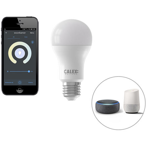Calex Bombilla LED regulable Smart app E27 806lm CALEX 2200-4000K