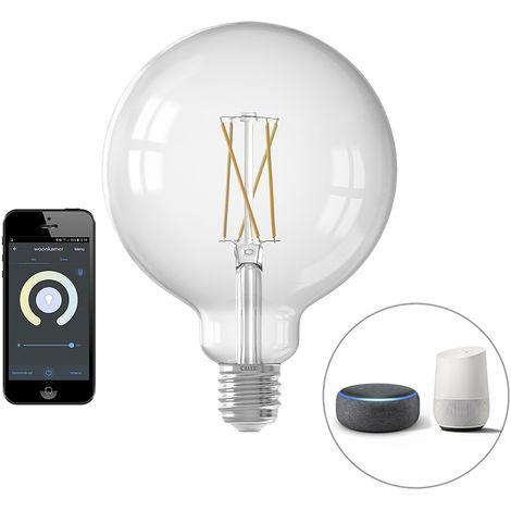 Calex Bombilla LED regulable Smart filamento E27 7.5W 1055lm 1800-3000K