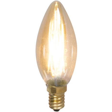 Calex Bombilla vela filamento LED regulable E14 3.5W 200lm 2100K