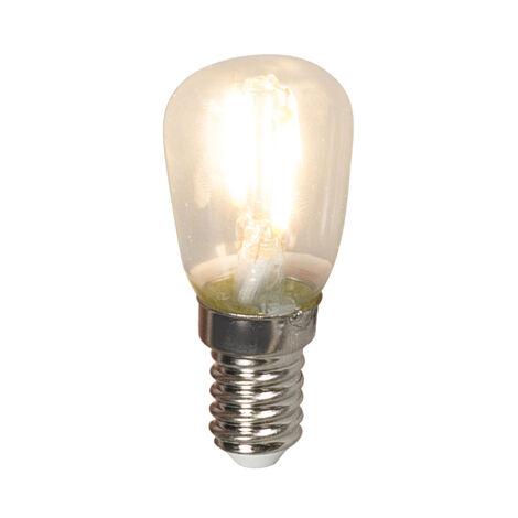 Calex Set 3 bombillas chatas filamentos LED E14 T26 1W 100lm 2700K