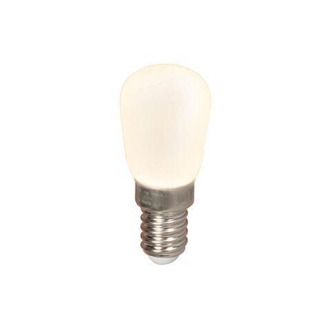Calex Set 3 bombillas chatas LED E14 T26 1W 90lm 2700K