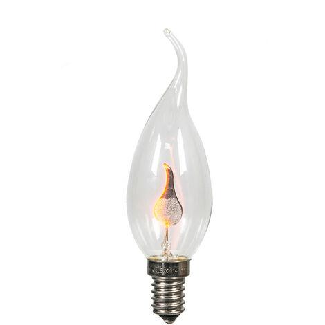 Calex Set 3 bombillas E14 regulable llameante 3W 5lm 2200K