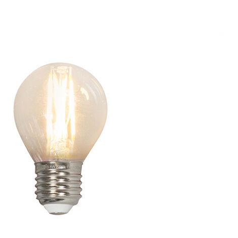 Calex Set 3 bombillas filamento LED E27 240V 3.5W 350lm P45 regulable