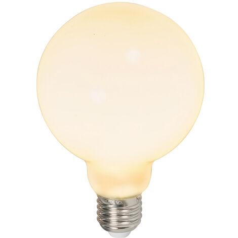 Calex Set 3 bombillas LED E27 G95 240V 6W 650lm regulables