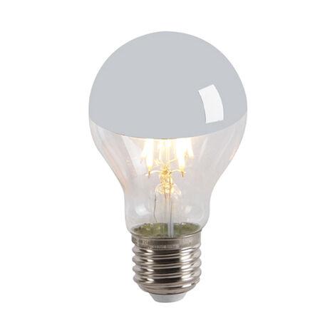 Calex Set 5 bombillas LED filamento cúpula espejo E27 240V 4W 300lm A60 regulable