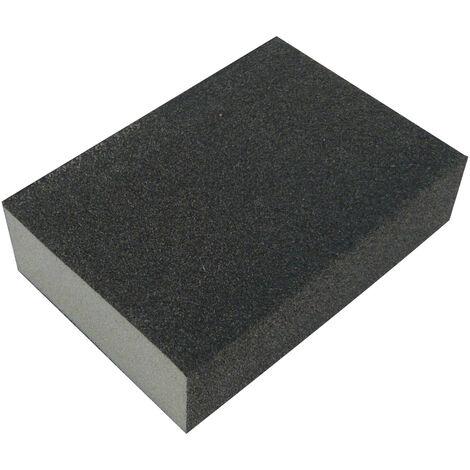 CALFLEX EAMF100 - Caja de 100 esponjas de 70x100x25 mm abrasivas A/O grano Medio/Fino