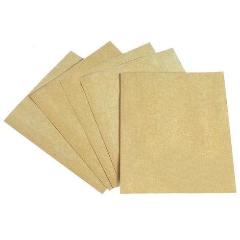 CALFLEX FC.120 - Caja de 50 papeles de lija de 230x280 mm grano 0/120