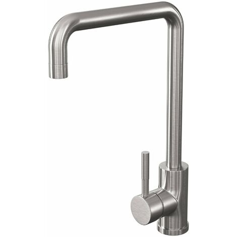 Cali Classic Single Lever Mono Kitchen Sink Mixer Tap - Brushed