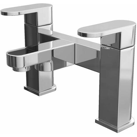 Cali Gento Bath Filler Tap - Deck Mounted - Chrome
