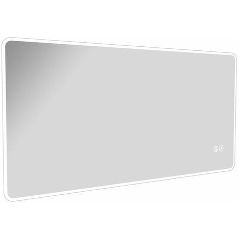 Cali LED Touch Sensor Ambient Bathroom Mirror 600mm H x 1200 W with Bluetooth and De-Mist