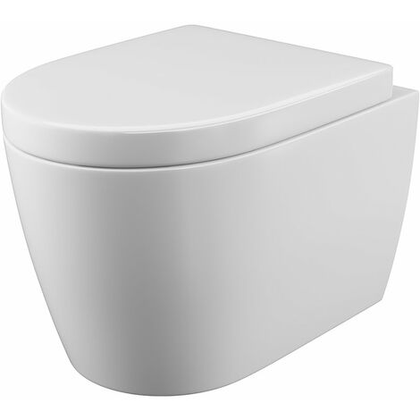 Cali Loxley Wall Hung Toilet - Quick Release Seat
