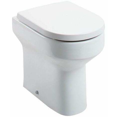 Cali Montego Comfort Height Back To Wall Toilet - Quick Release Seat