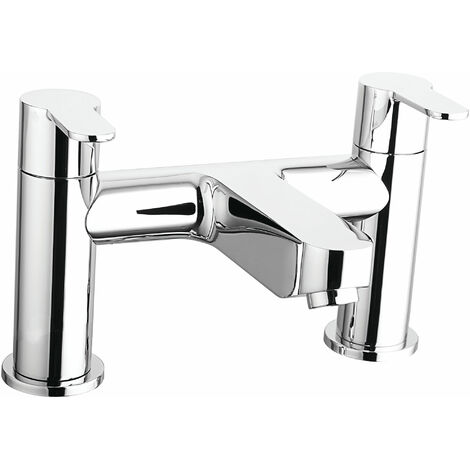 Cali Roma Bath Filler Tap - Deck Mounted - Chrome