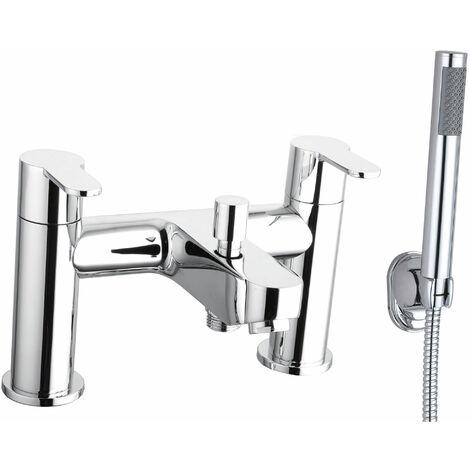 Cali Roma Bath Shower Mixer Tap - Deck Mounted - Chrome