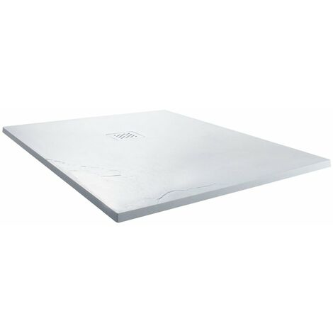 Cali Square Shower Tray 900mm x 900mm - White