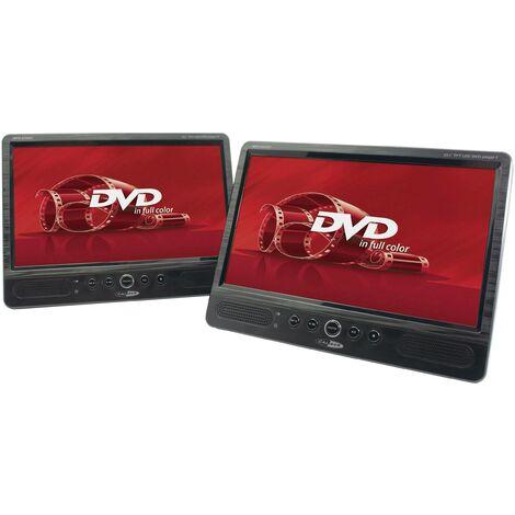 Caliber Audio Technology MPD-2010T Lecteur DVD pour appuie-tête avec 2 écrans Diagonale d'écran=25.4 cm (10 pouces) S197621