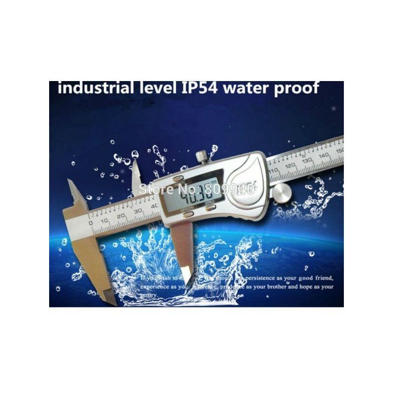 CALIBRO DIGITALE A CORSOIO 0-150 mm IN ACCIAO CON DISPLAY E CUSTODIA