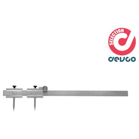 """main image of """"Calibro per tracciare regolazione micrometrica 500 mm HOFFMANN - 445800 500"""""""