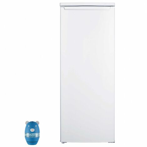 CALIFORNIA Réfrigérateur frigo simple porte blanc 240L froid statique Dégivrage auto - Blanc