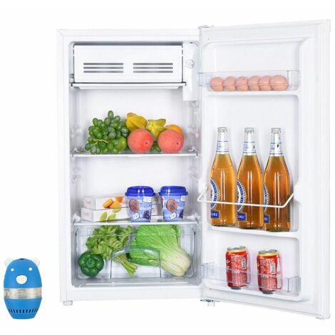 CALIFORNIA Réfrigérateur Frigo Simple Porte Table Top Blanc 93L Froid Statique - Blanc