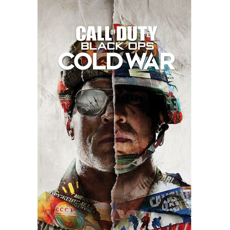 Image of Black Ops Cold War Poster (One Size) (Multicoloured) - Call Of Duty
