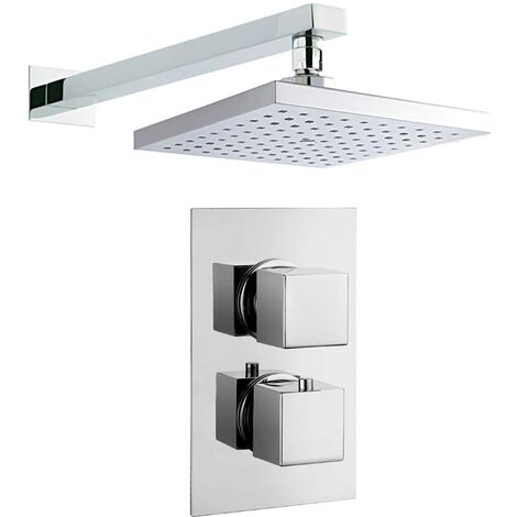 Callan Concealed Thermostatic Shower Set - By Voda Design