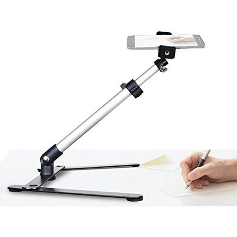 Calligraphy video stand, tabletop phone stand for baking, crafting, demonstrating, drawing, sketching, recording / Tiktok / Youtube live streaming