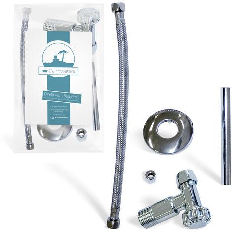 Calmwaters® Anschluss-Set für den Anschluss des Toiletten-Spülkästens für den Wasser-Zulauf von hinten - 30LC3185