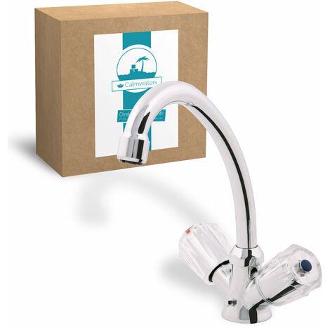 Calmwaters® Elements - Niederdruckarmatur mit hohem Auslauf für Boiler zur Befestigung am Waschbecken - 14PZ2469