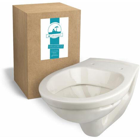 Calmwaters® Hänge-WC in Pergamon als Tiefspüler mit waagerechtem Abgang, Tiefspül-WC - 08AB3276