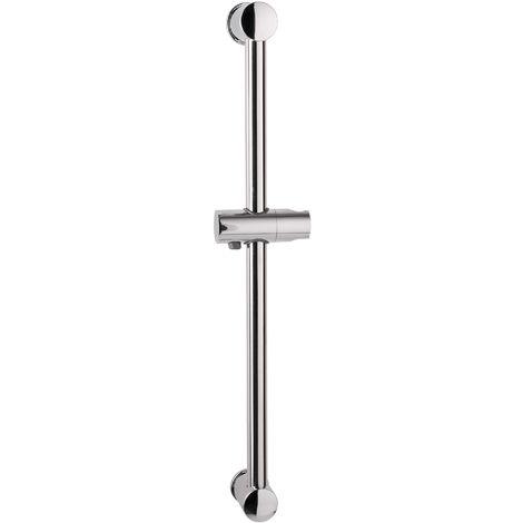 Calmwaters® Honest - 60 cm lange Brausestange mit Gleiter und Wandhalterung zur Befestigung ohne Bohren - 22AG2711