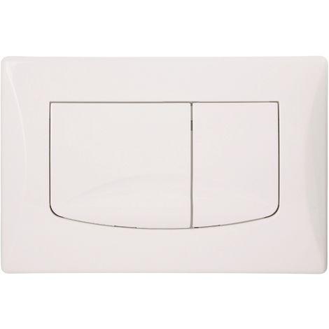 Calmwaters® WC-Betätigungsplatte für Spülkästen mit Zwei-Mengen-Spülung inklusive Befestigung - 30AD3152