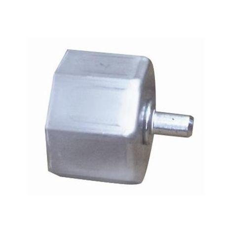 Cnbtr rotonda Eye girevole Bolt moschettone portachiavi clip in acciaio INOX 10/pezzi 80/mm colore: Argento